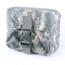 Bag for the NEPVS-14, shown in camo green