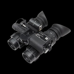 The Gen 3 (non-Pinnacle) autogated binocular night vision device by Exelis