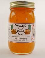 Homemade Peach Rhubarb Jam Manufacturer | Das Jam Haus - Limestone, Tennessee