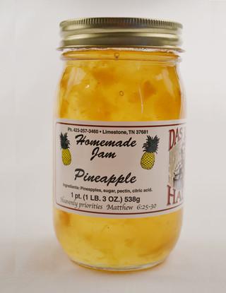 Homemade Pineapple Jam Manufacturer   Das Jam Haus - Limestone, Tennessee
