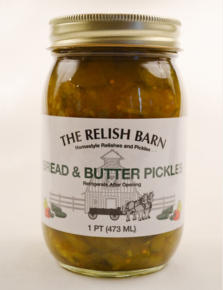 The Relish Barn's Homemade Bread and Butter Pickles   Das Jam Haus in Tennessee