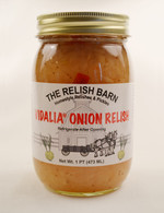 The Relish Barn's Homemade Vadalia Onion Relish | Das Jam Haus