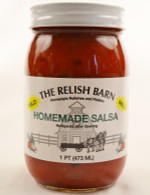 Homemade Mild Salsa - The Relish Barn | Das Jam Haus in Tennesee