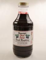 Homemade Black Raspberry Syrup | Das Jam Haus in Limestone, Tennesee