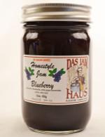 Homemade Sugarless Blueberry Jam | Das Jam Haus in Limestone, Tennessee