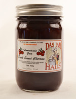 Homemade Sugarless Dark Sweet Cherry Jam | Das Jam Haus in Limestone, Tennessee