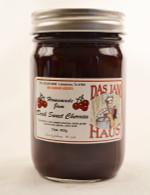 Homemade No Sugar Added Dark Sweet Cherry Jam | Das Jam Haus in Limestone, Tennessee