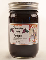 Homemade Sugarless Grape Jelly  | Das Jam Haus in Limestone, TN