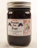 Homemade No Sugar Added Grape Jelly  | Das Jam Haus in Limestone, TN