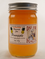 Homemade Sugarless Pineapple Fruit Jam  | Das Jam Haus in Limestone, TN