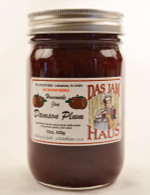 Homemade Sugarless Plum Fruit Jam  | Das Jam Haus in Limestone, TN