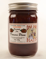 Homemade Sugarless Plum Fruit Jam  | Das Jam Haus in Limestone, TN