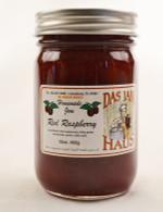 Sugarless Red Raspberry Jam