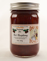 Sugarless Red Raspberry Jam