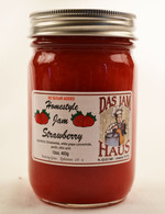 Homemade Sugarless Strawberry Jam | Das Jam Haus in Limestone, Tennessee
