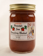 Sugarless Strawberry Rhubarb Jam | Das Jam Haus in Limestone, Tennessee