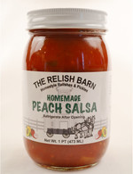 Homemade Peach Salsa - The Relish Barn | Das Jam Haus in Tennesee