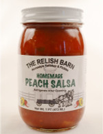 Homemade Peach Salsa - The Relish Barn