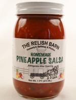 Homemade Pineapple Salsa - The Relish Barn | Das Jam Haus in Tennesee