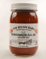Homemade Hot Salsa - The Relish Barn