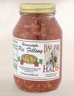 Homemade Strawberry Rhubarb Pie Filling | Das Jam Haus in Tennessee
