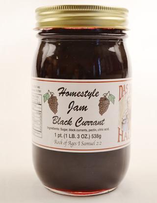 Homestyle Black Current Fruit Jam | Das Jam Haus in Limestone, Tennessee