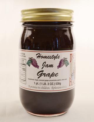 Homemade Grape Jelly | Das Jam Haus in Limestone, Tennessee