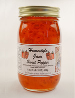Homemade Sweet Pepper Jam | Das Jam Haus in Limestone, Tennessee