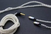 Alpha & Delta 8 Core Silver plated Copper MMCX Upgradeble Cable