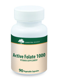 Active Folate 1000 - 90 Capsules By Genestra Brands