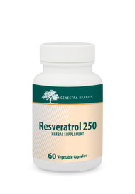 Resveratrol 250 - 60 softgels By Genestra Brands