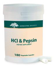 HCl & Pepsin - 180 Capsules By Genestra Brands