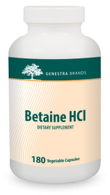 Betaine HCl - 180 Capsules By Genestra Brands