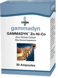 Gammadyn Zn-Ni-Co - 30 unidoses By UNDA