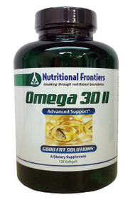Omega 3D II by Nutritional Frontiers 120 capsules