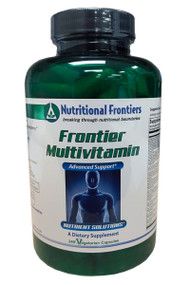 Frontier Multivitamin by Nutritional Frontiers 240 Vege capsules