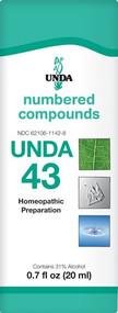 Unda #43 - 0.7 fl oz By UNDA