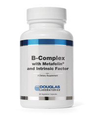 B-Complex w/ Metafolin and Intrinsic Factor by Douglas Laboratories 60 VCap