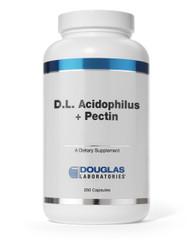 D.L. Acidophilus + Pectin by Douglas Laboratories 250 Capsules