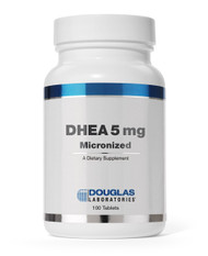 DHEA 5 mg Micronized by Douglas Laboratories 100 Tablets
