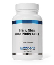 Hair, Skin and Nails Plus by Douglas Laboratories 100 Capsules