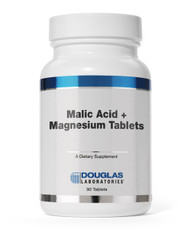 Malic Acid + Magnesium Tablets by Douglas Laboratories 180 Tablets
