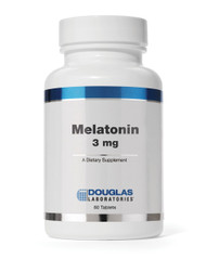Melatonin 3 mg by Douglas Laboratories 60 Tablets