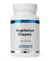 Vegetarian Enzyme (120 count) by Douglas Laboratories