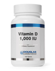 Vitamin D 1,000 I.U. by Douglas Laboratories 100 Tablets