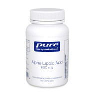 Alpha Lipoic Acid 100 mg. 60's - 60 capsules by Pure Encapsulations
