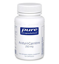 Acetyl-l-Carnitine 250 mg - 60 capsules by Pure Encapsulations