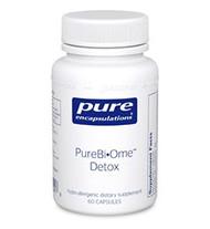 PureBi•Ome™ Detox 60's - 60 capsules by Pure Encapsulations