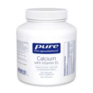 Calcium with Vitamin D3 180's - 180 capsules by Pure Encapsulations
