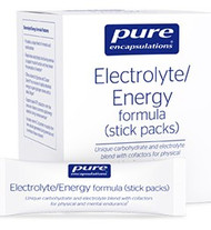 Electrolyte/Energy formula (stick packs) - 30 stick packs - 30 packets by Pure Encapsulations